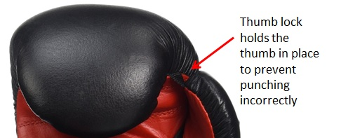 Everlast Fighter Thumb Lock