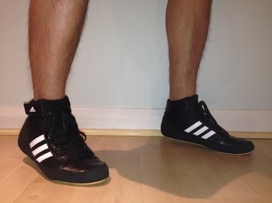 boxing trainers adidas