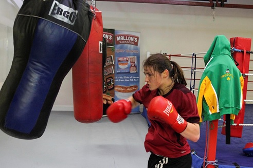 Katie Taylor Heavy Bag