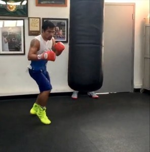 Pacquiao Heavy Bag