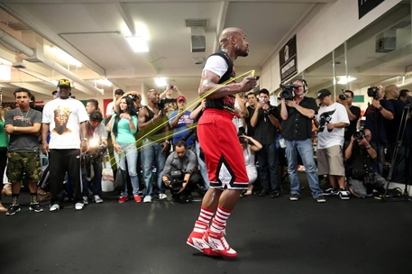 Mayweather Jump Rope